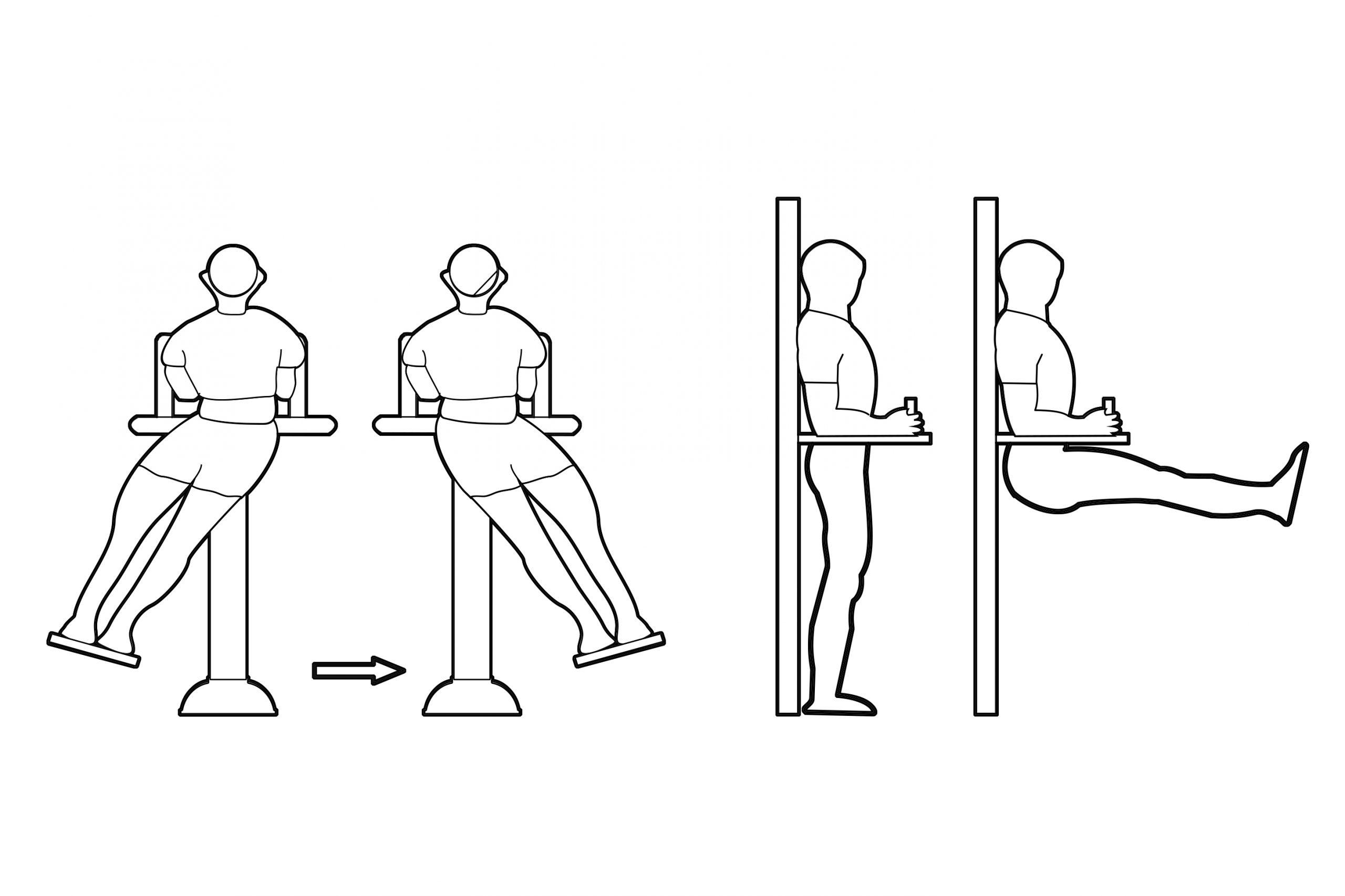 מאמן שרירי בטן ואגן - אופן השימוש