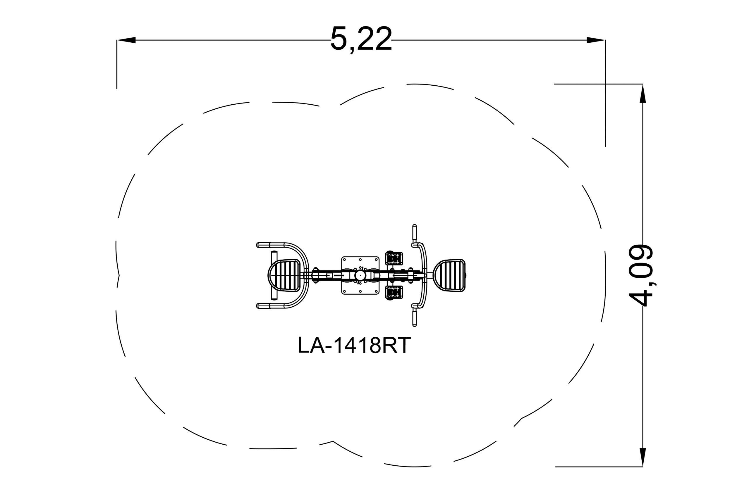 חתירה בתמיכת חזה משולב טרייספס אחורית - מרווח בטיחות