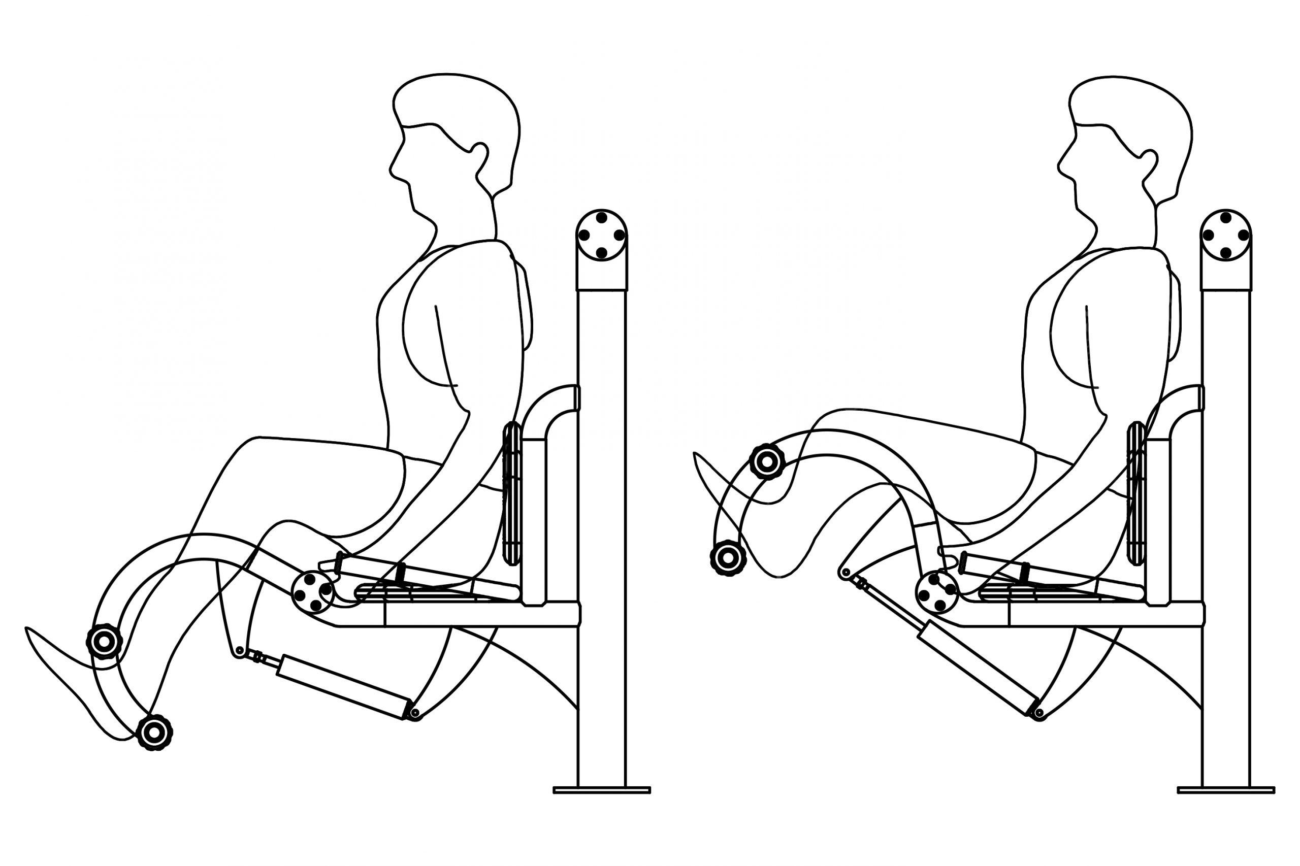 פשיטת ברכיים הידראולי - אופן השימוש