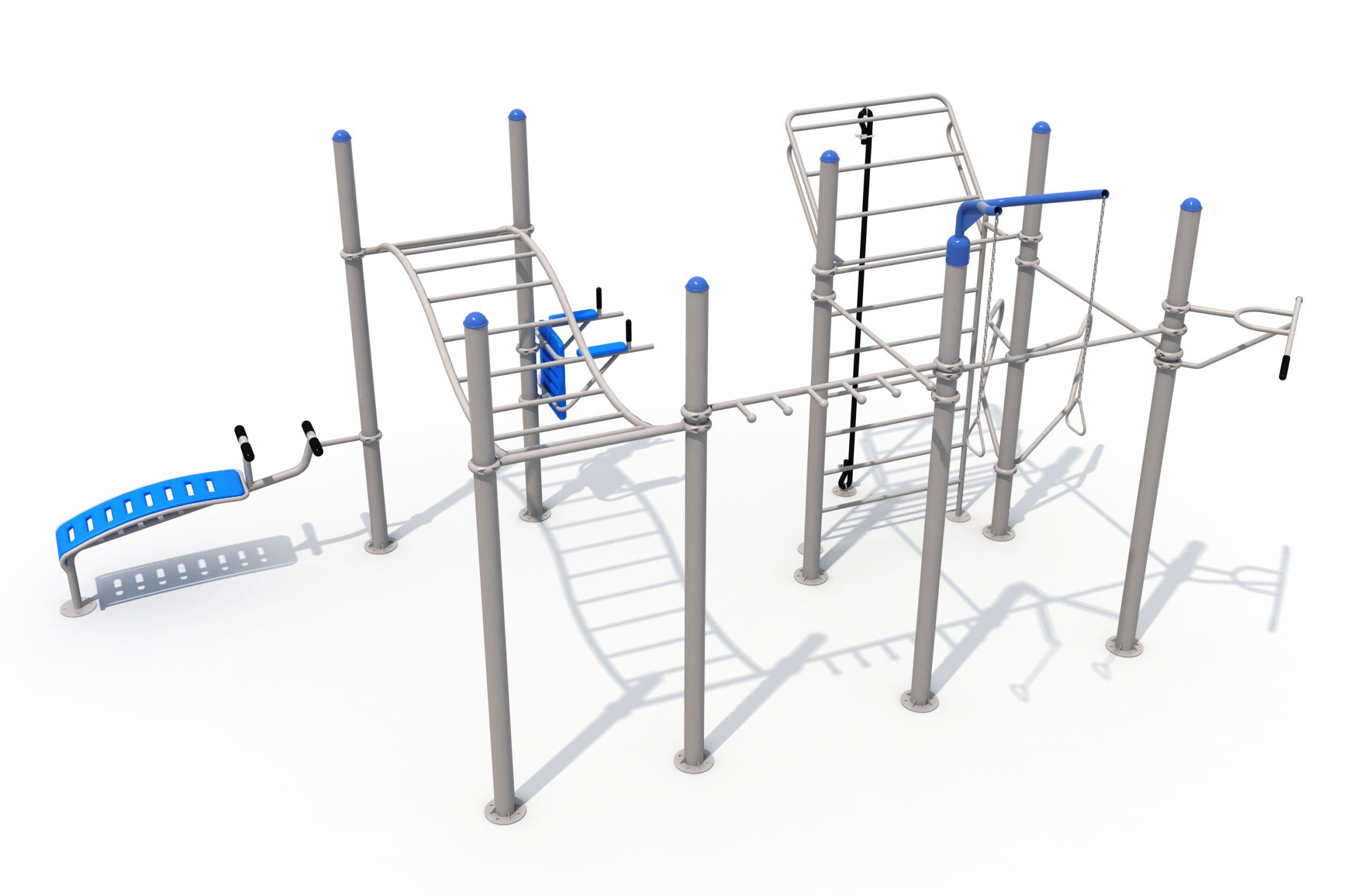 מתקן פונקציונאלי סוג 5 - מבט צידי