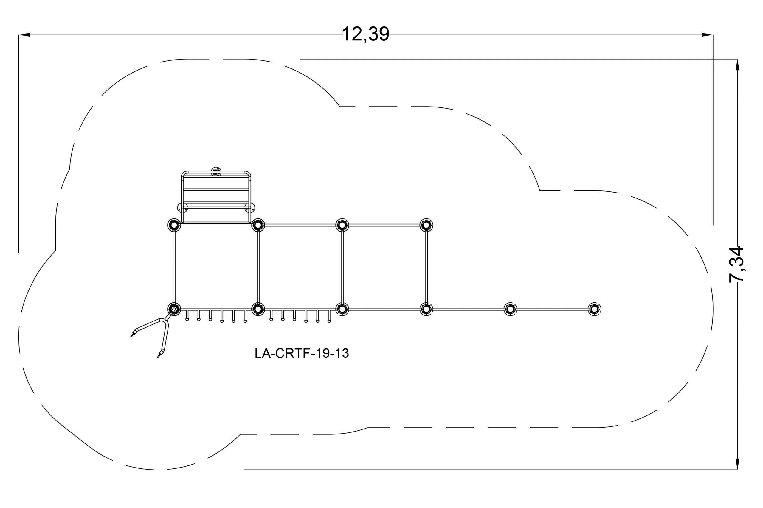 מתקן פונקציונאלי סוג 8 - מרווח בטיחות
