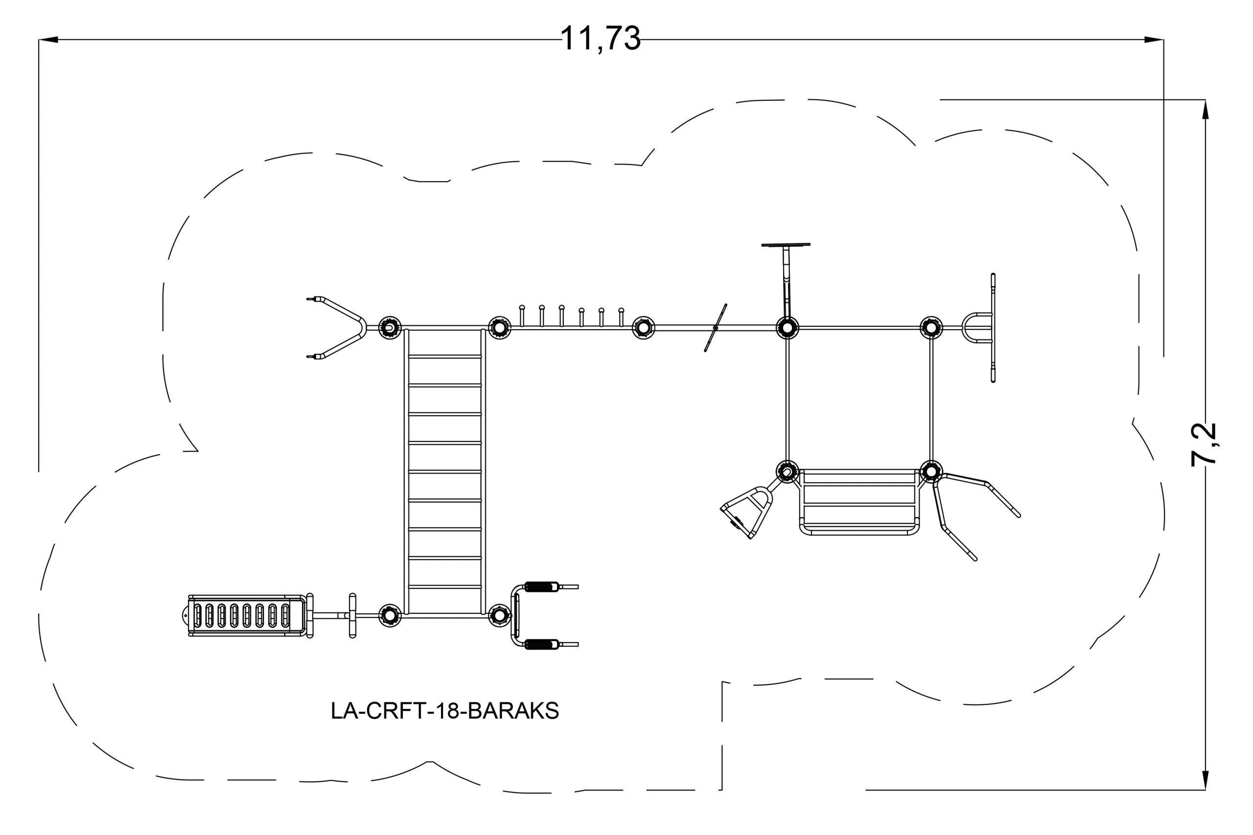 מתקן משולב ברקס - מרווח בטיחות